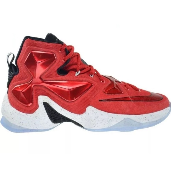 best loved 138ba f4903 Nike LeBron 13 XIII Home University 807219610 Shoe NWT